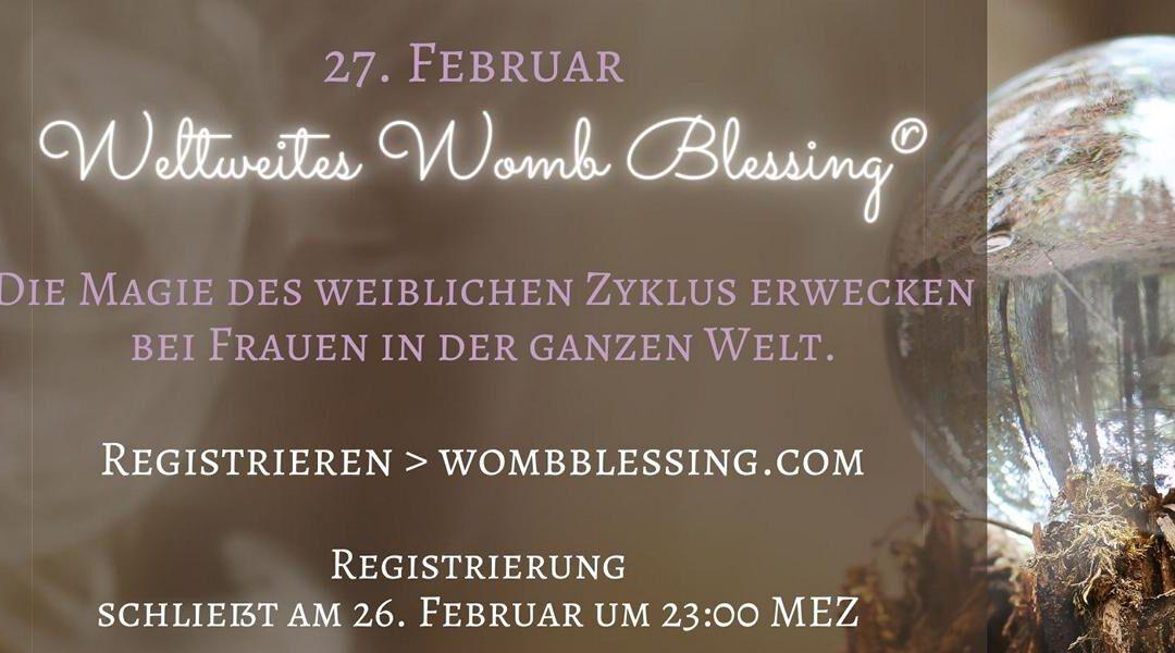 Weltweite Gebärmuttersegnung am 27.02.21 im Online Kreis