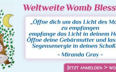 Online-Kreis zum Weltweiten Womb Blessing am 07. Mai 2020