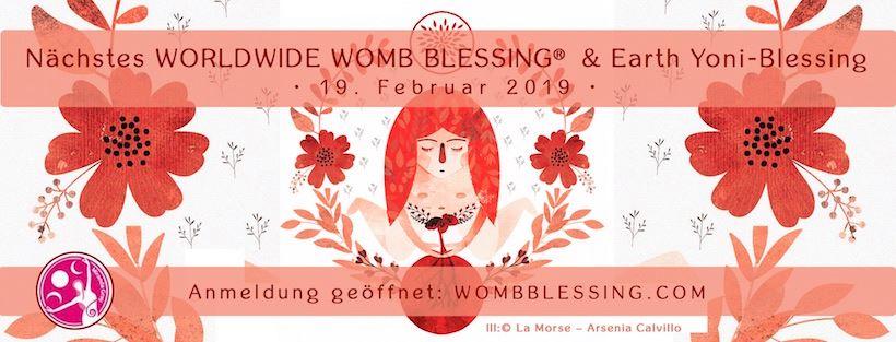 """Weltweites Womb Blessing zur """"Erneuerung der Gebärmutter"""" im Schwesternkreis am 19.02.19"""