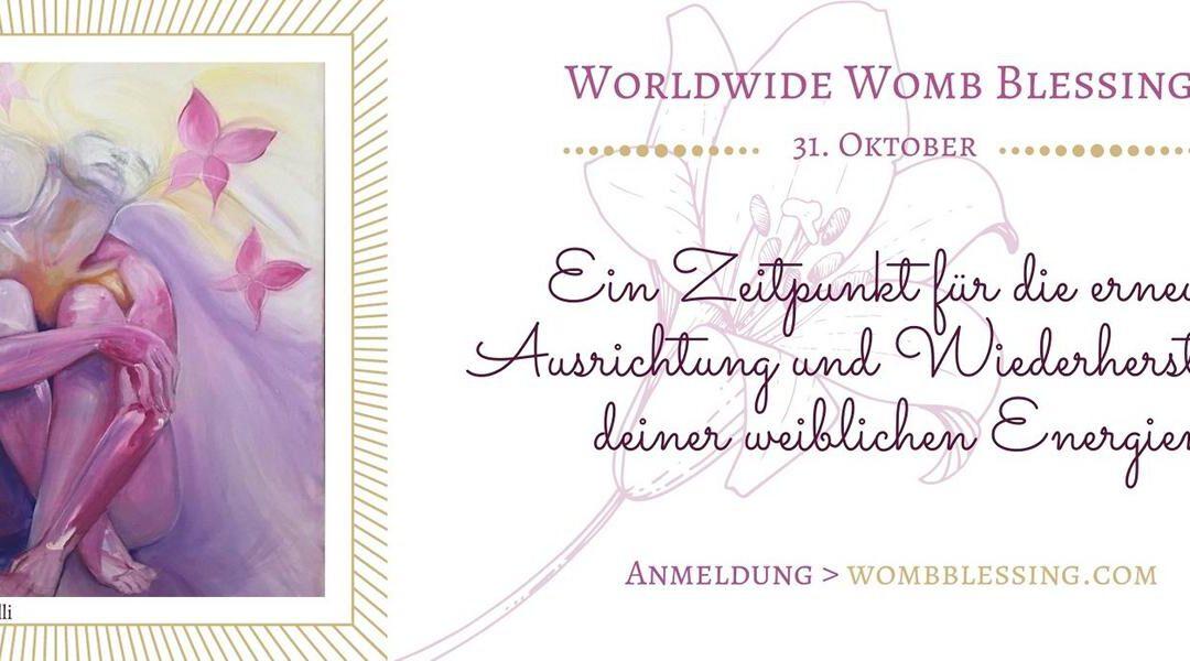 Weltweite Gebärmuttersegnung im Oktober – im Online Kreis